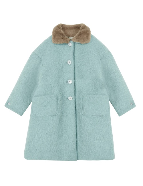 카라멜 SHELDUCK COAT-MINT