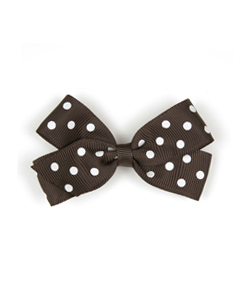 베르티존스 Medium Hair clip Dot_Licorice