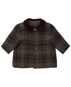 카라멜 HERACLES BABY COAT_MULTI CHECK
