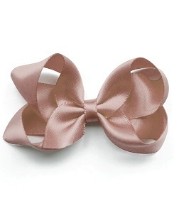 베르티존스 Medium Hair clip Satin_Antique Mauve