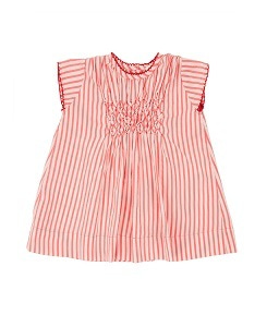 카라멜 CLAPHAM BABY DRESS_BERRY