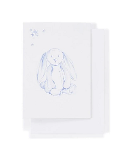 나나후치 Gift Card Bella Bunny Blue
