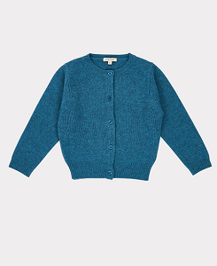 카라멜 GUILLEMOT CARDIGAN-TEAL