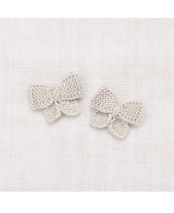 미샤앤퍼프 Baby Puff Bow Set - Cloud