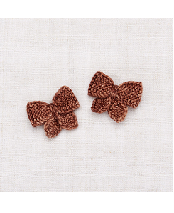 미샤앤퍼프 Baby Puff Bow Set - Chestnut